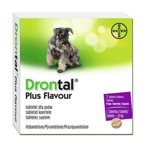 OKAZJA - drontal plus flavour tabletki na odrobaczenie dla psów marki Bayer