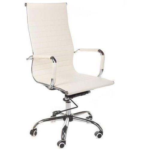 Fotel biurowy bx-2035 kremowy marki Corpocomfort