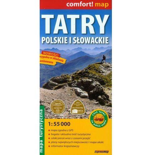 Tatry Polskie I Słowackie. Laminowana Mapa Turystyczna W Skali 1:55 000, ExpressMap