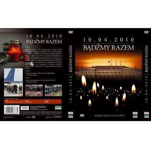 Telewizja polska Bądźmy razem. 10.04.2010 r. (3 dvd + książka) (5902600066361)