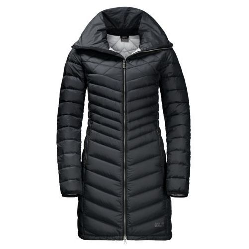 Jack wolfskin Płaszcz richmond coat women - black