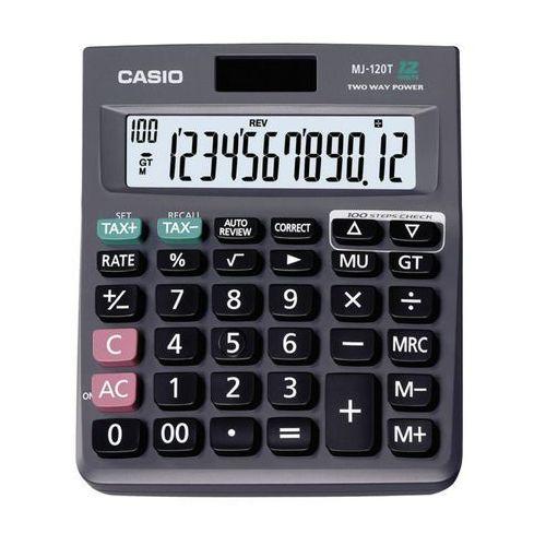 Kalkulator  mj 120t/d wyprodukowany przez Casio