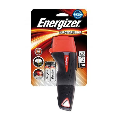 Latarka Energizer Rubber Large LED 2AA (632629) Darmowy odbiór w 20 miastach! (7638900326291)