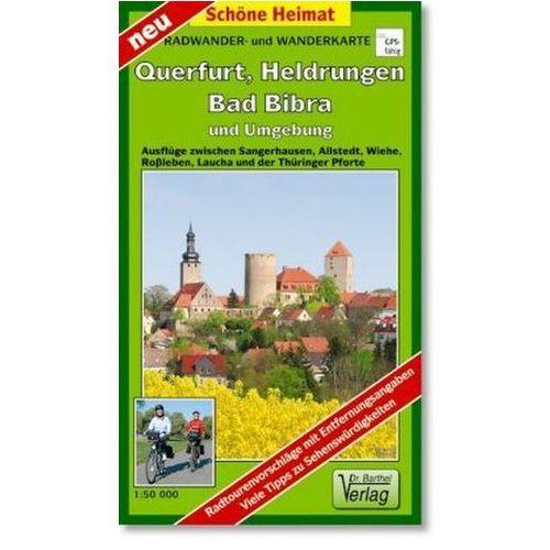 Doktor Barthel Karte Querfurt, Heldrungen, Bad Bibra und Umgebung (9783895912207)