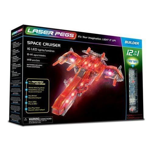 12 in 1 Space Cruiser - Laser Pegs