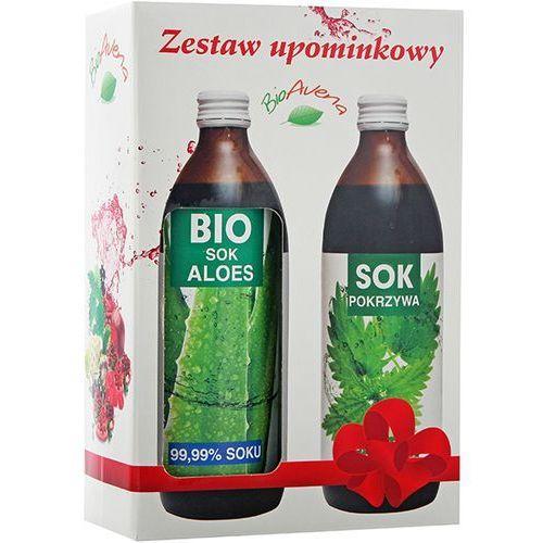 BIOAVENA Zestaw Sok Bio Aloes 500ml + Sok z pokrzywy 500ml | DARMOWA DOSTAWA OD 150 ZŁ!