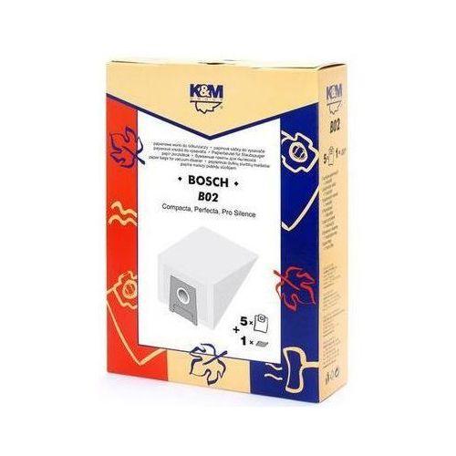 K&m Worek do odkurzacza b02 (5 sztuk) (2900320321053)