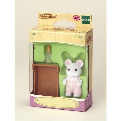 Sylvanian Families, dziecko białych myszek, zestaw z figurką, 3420, kup u jednego z partnerów