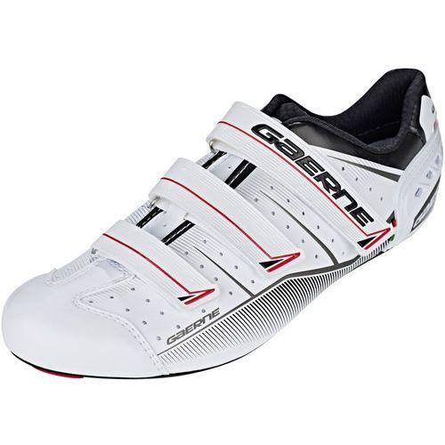 g.record buty mężczyźni biały 44 2018 buty szosowe zatrzaskowe marki Gaerne