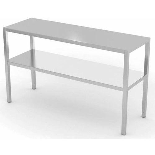 Nadstawka na stół dwupoziomowa | szer: 600-1400 mm | gł: 400 mm marki Polgast