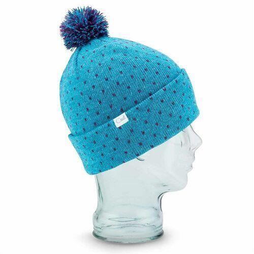 czapka zimowa COAL - The Dottie Heather Light Blue (11) rozmiar: OS, kolor niebieski
