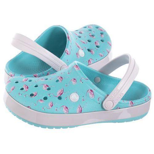Klapki Crocs Seasonal Graphic Clog Ice Blue/Pink 205579-4lU (CR160-a)
