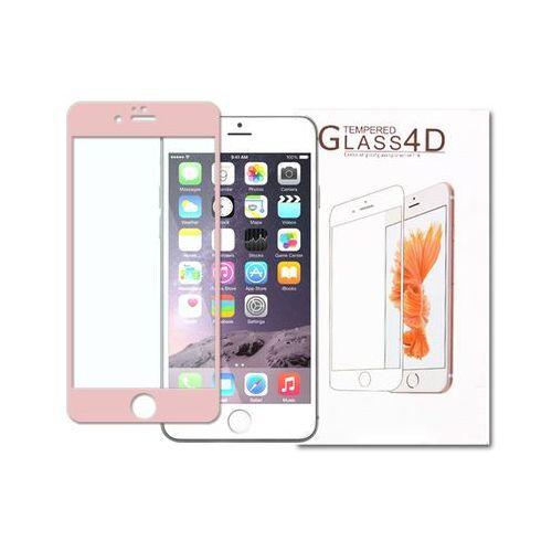 Etuo.pl - szkło Apple iphone 6 - szkło hartowane 3d - różowy