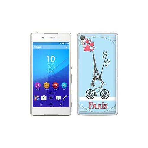 etuo Fantastic Case - Sony Xperia Z3+ - etui na telefon Fantastic Case - wieża eiffla i rower