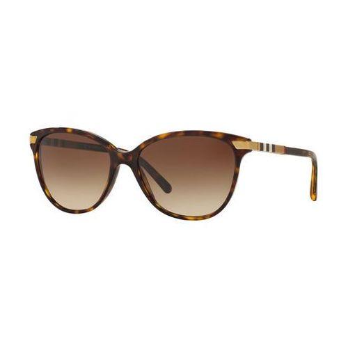 Okulary Słoneczne Burberry BE4216F Asian Fit 300213, kolor żółty