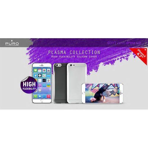 "PURO Plasma Cover - Etui iPhone 6 4.7"" (czarny), kolor czarny"