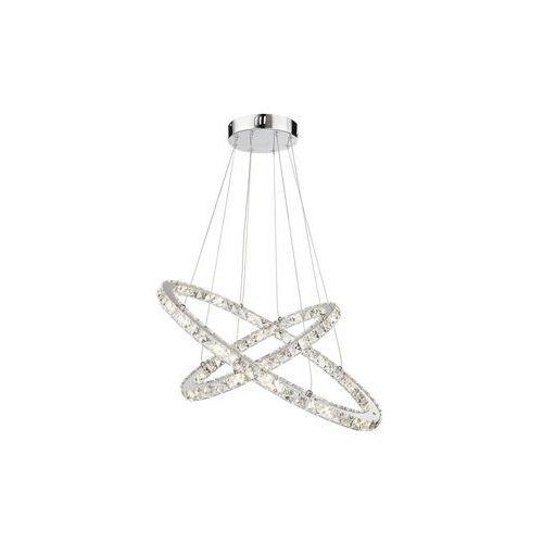Globo lighting Globo lampa wisząca led przezroczysty, chrom, 1-punktowy - - obszar wewnętrzny - i - czas dostawy: od 6-10 dni roboczych