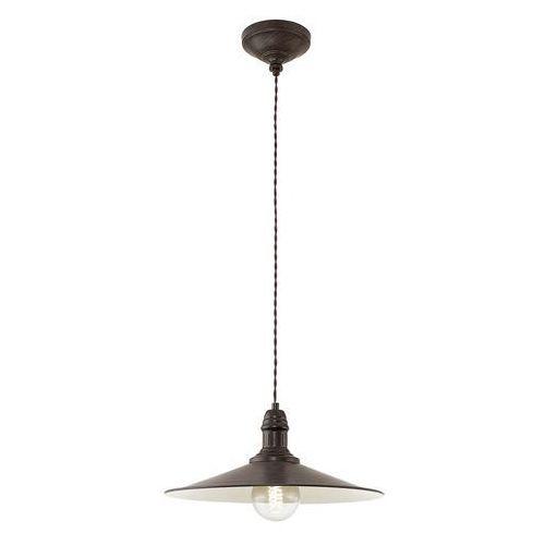 Eglo Lampa wisząca śr:36cm 1x60w e27 stockbury 49456 (9002759494568)