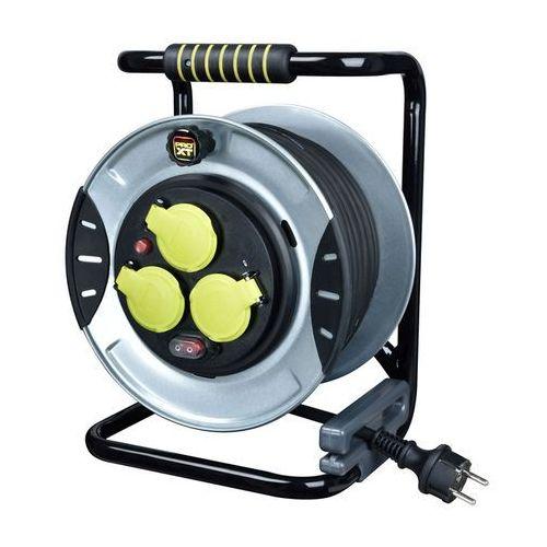Przedłużacz bębnowy Diall metalowy 3 x 1,5 mm2 25 m (3663602735342)