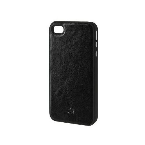 Etui XQISIT do Apple iPhone 4/4S iPlate Eman Czarny (4029948027470)