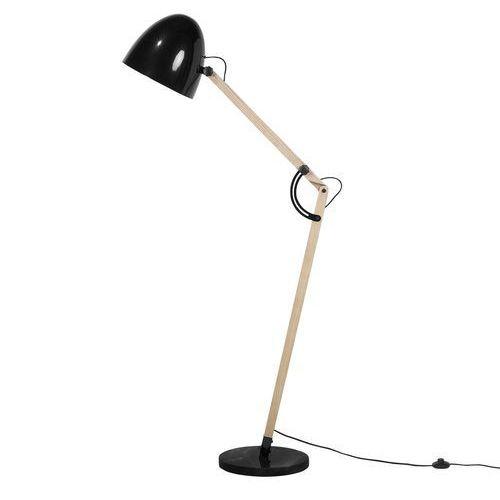 Lampa stojąca czarna 175 cm HETTON (4260586357691)
