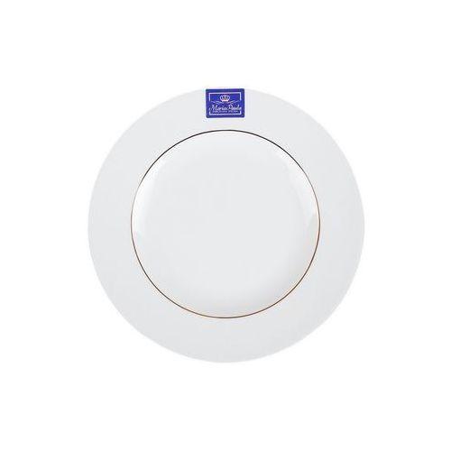 polska biały talerz deserowy porcelanowy marki Chodzież