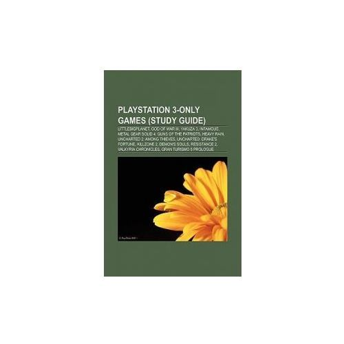PlayStation 3-only games (Book Guide)