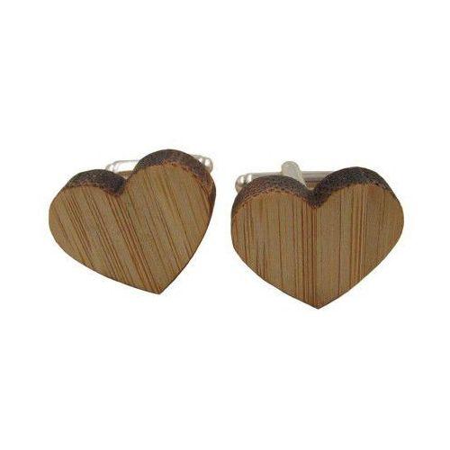 Spinki do mankietów drewniane SERCA, 357