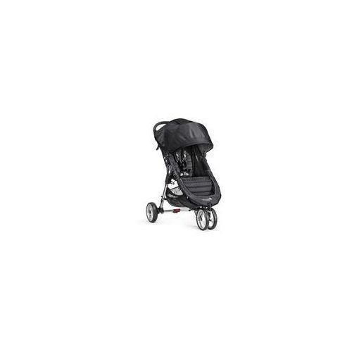 Baby jogger W�zek spacerowy city mini single + gratis (black/gray)