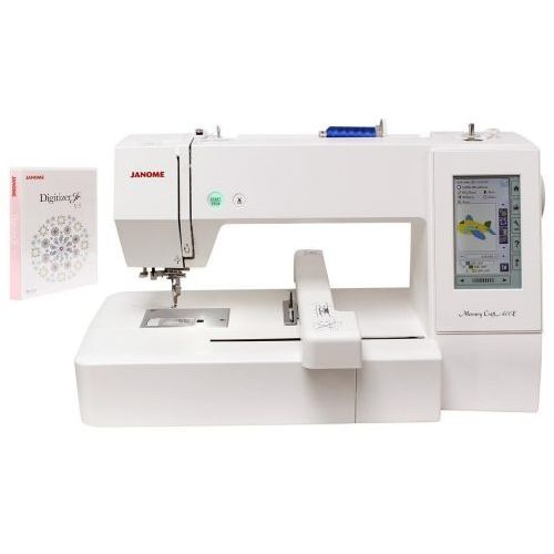Hafciarka Janome MC400e + program Digitizer JR + kurier 24h, Janome MC400e + JR