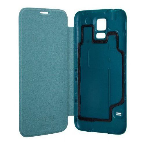 Xqisit Etui do samsung galaxy s5 battery door case niebieski (4029948015484)