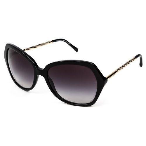 Okulary Słoneczne Burberry BE4193 Gabardine 30018G, kolor żółty