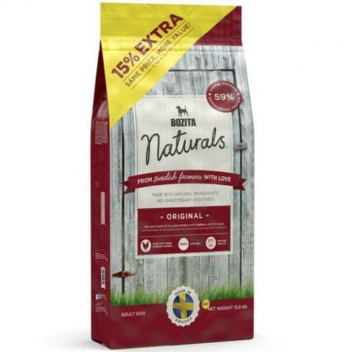naturals original - karma dla psów dorosłych wszystkich ras i rozmiarów,13,8 kg marki Bozita