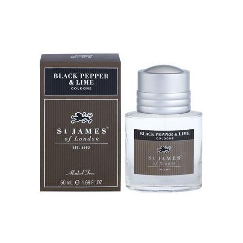 black pepper & persian lime woda kolońska dla mężczyzn 50 ml + do każdego zamówienia upominek. marki St. james of london