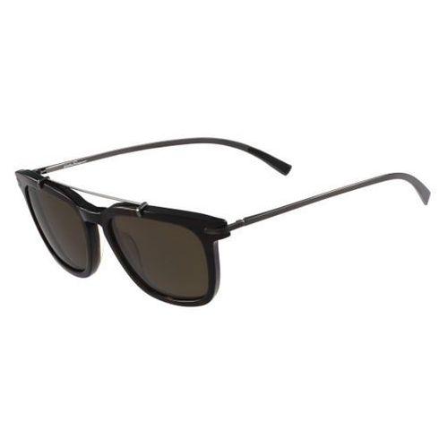 Okulary Słoneczne Salvatore Ferragamo SF 820SP Polarized 214, kolor żółty