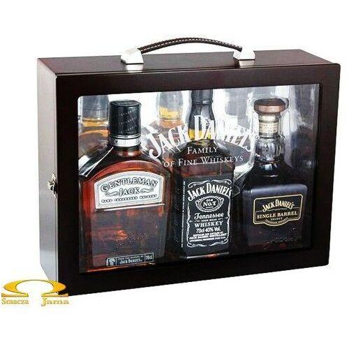 """Jack daniel distillery Whiskey jack daniel's zestaw """"rodzina w komplecie"""""""