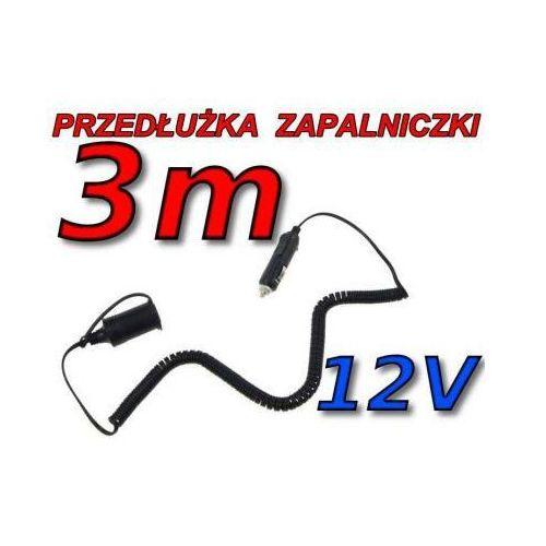 Samochodowy Przedłużacz Gniazda Zapalniczki - 3 Metry., 5907773415248