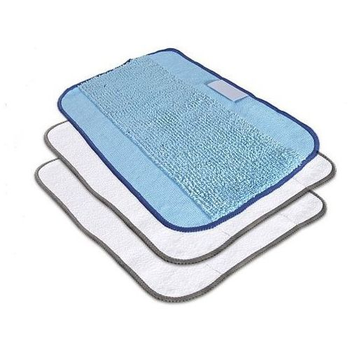 3 ściereczki z mikrofibry (1 x do pracy na mokro, 2 x do pracy na sucho) iRobot Braava (5060155408804)