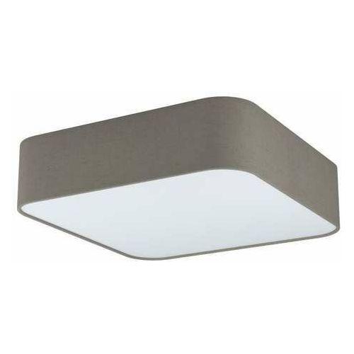 Eglo pasteri square 99091 plafon lampa sufitowa 5x25w e27 biały/popielaty (9002759990916)