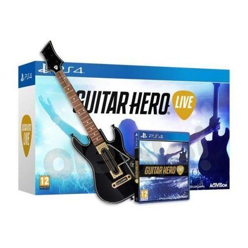 Guitar hero live + gitara - produkt w magazynie - szybka wysyłka! marki Activision