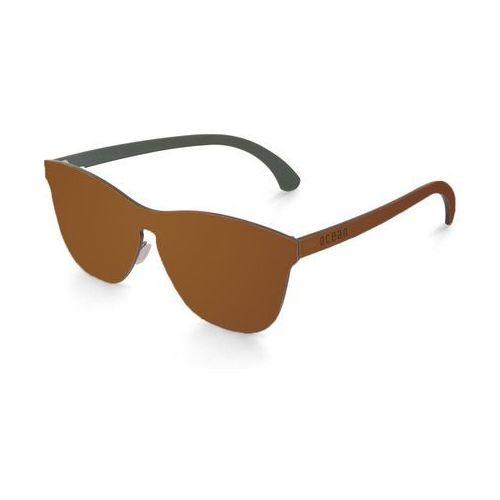 Okulary Przeciwsłoneczne Unisex Ocean Sunglasses 25-3_LAMISSION Brązowe