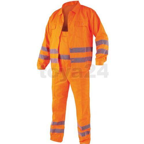 Ubranie ostrzegawcze creston rozm xxl / 72909 /  - zyskaj rabat 30 zł wyprodukowany przez Toya