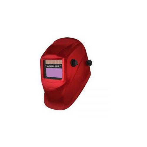 Przyłbica spawalnicza samościemniająca jednozakresowa czerwona Lahti Pro (L1540600), L1540600
