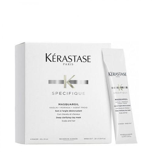 specifique masquargil | głęboko oczyszczająca maska z glinką 10ml wyprodukowany przez Kerastase