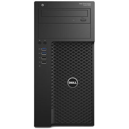 Dell Precision Tower 3620 52512380 - Intel Xeon E3 1240 v5 / 8 GB / 1256 GB / nVidia Quadro K620 / DVD+/-RW / Windows 10 Pro lub 7 Pro / pakiet usług i wysyłka w cenie (Zestaw komputerowy)