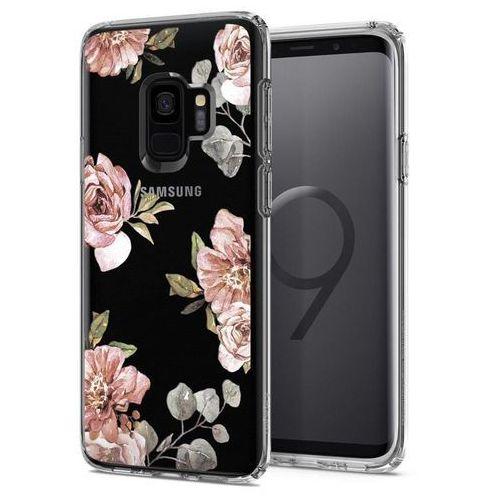 Spigen SGP Liquid Crystal Flower | Obudowa ochronna dedykowana dla modelu Samsung Galaxy S9 - Flower