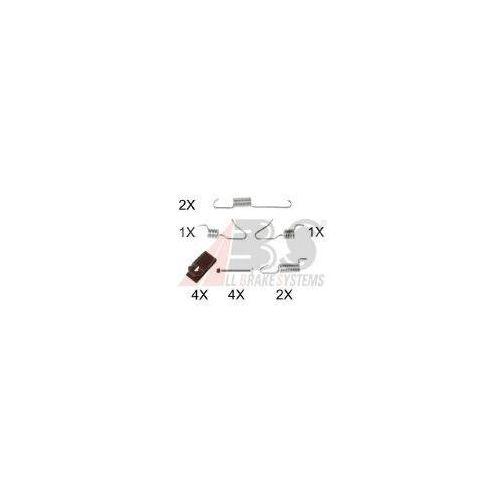A.B.S. Zestaw akcesoriów, szczęki hamulcowe hamulca postojowego - 0898Q, towar z kategorii: Szczęki hamulcowe