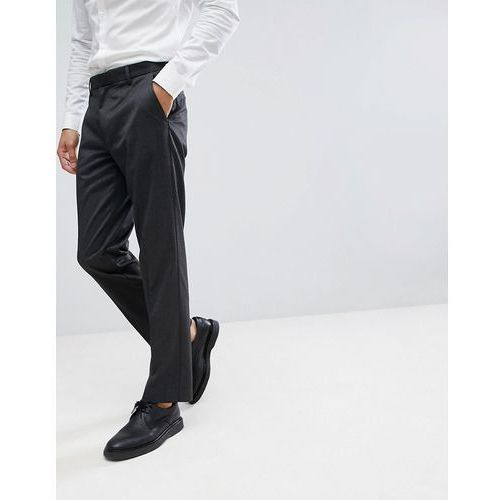 tailored smart trousers in grey - grey, Burton menswear
