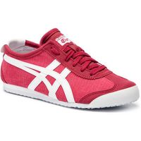 Sneakersy ASICS - ONITSUKA TIGER Mexico 66 1183A223 Classic Red/White 600, kolor czerwony