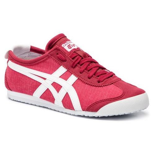 Asics Sneakersy - onitsuka tiger mexico 66 1183a223 classic red/white 600
